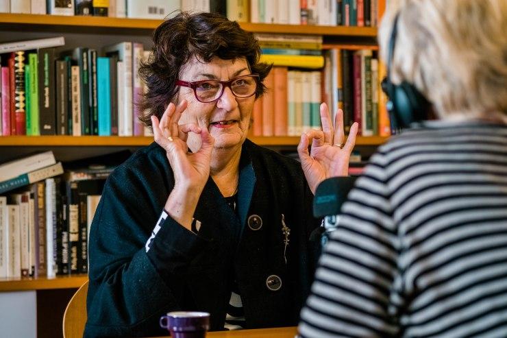 Margot Scherl, Mit-Gründerin Frauenberatung