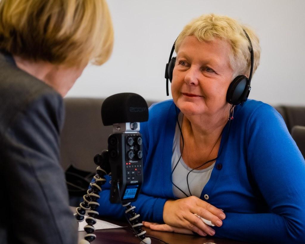 Brigitte Handlos, Moderatorin auf FrauenFunk und Mitbegründerin des Frauennetzwerk Medien