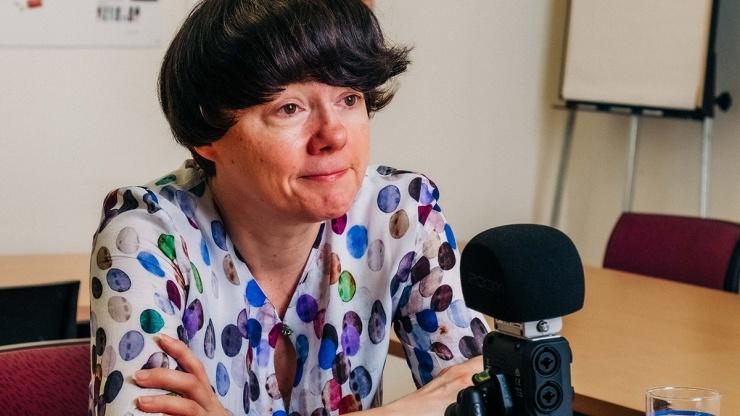 FrauenFunk #12: Marion Gebhart, Leiterin MA 57, Frauenservice Wien