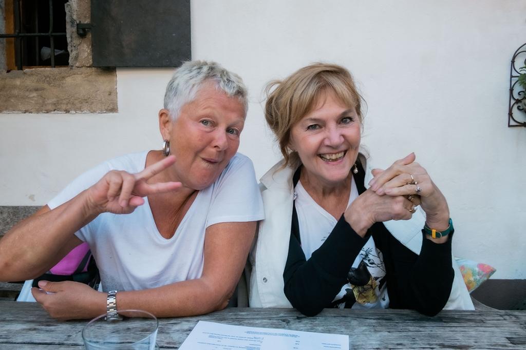 FrauenFunk: Brigitte Handlos mit Beate Winkler
