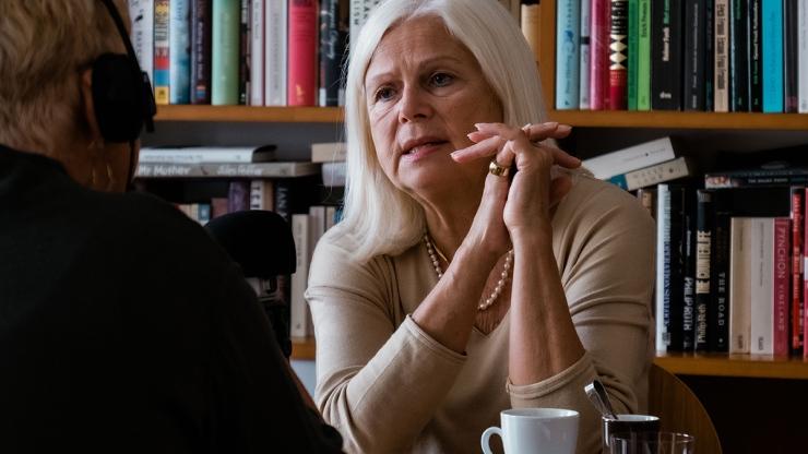 FrauenFunk #32: Elfriede Hammerl: Kolumnistin und Autorin