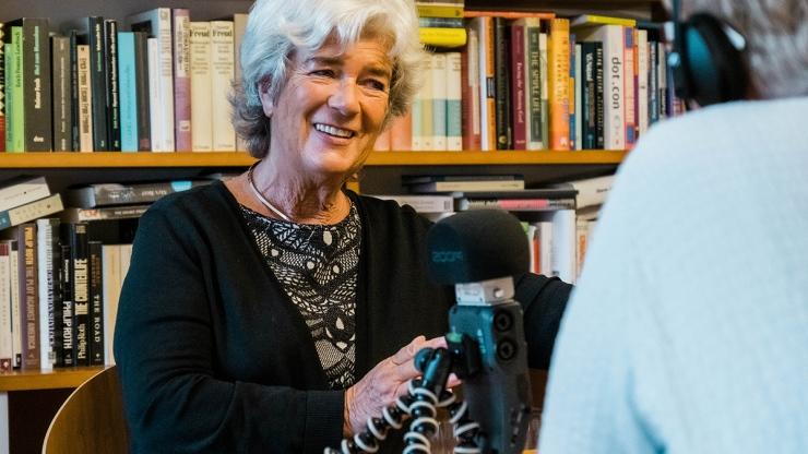 FrauenFunk #35: Im Gespräch mit Heide Schmidt, frühere Chefin Liberales Forum