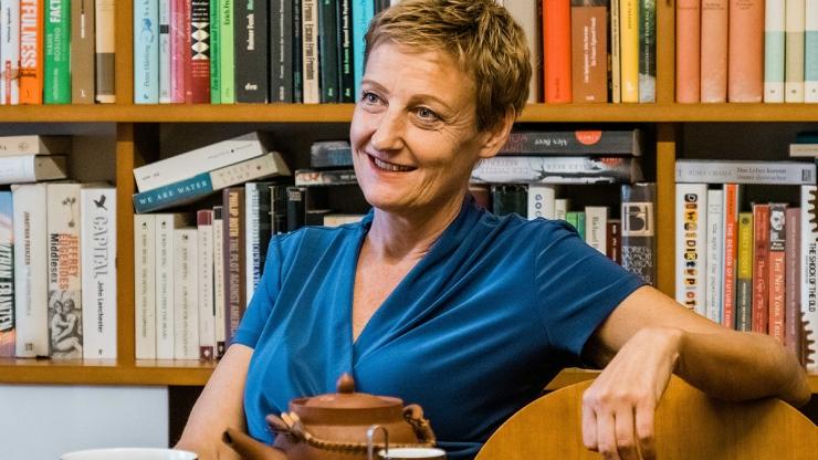 FrauenFunk #38: Sibylle Hamann, Politikerin, Die Grünen