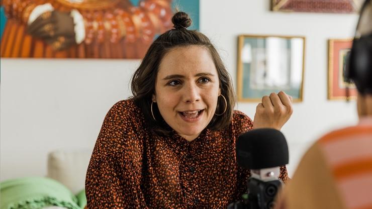 FrauenFunk S.2, Episode #9: Brigitte Handlos im Gespräch mit Elisabeth Lechner, Kulturwissenschafterin / F: Helmut Spudich