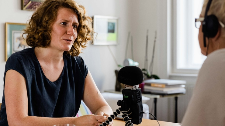 FrauenFunk S.2, Episode #17: Brigitte Handlos im Gespräch mit Katharina Rogenhofer, Ökologieexpertin und Umweltaktivistin / F: Helmut Spudich